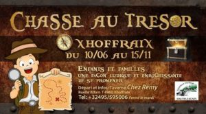 Chasse au trésor Xhoffraix 2020